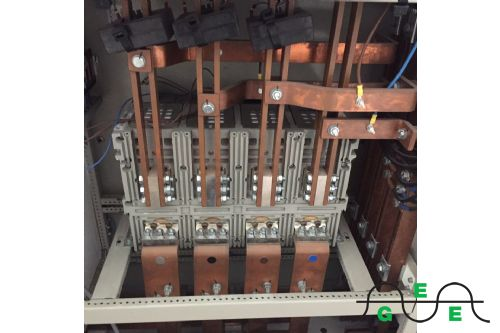 Inver Main switch busbar