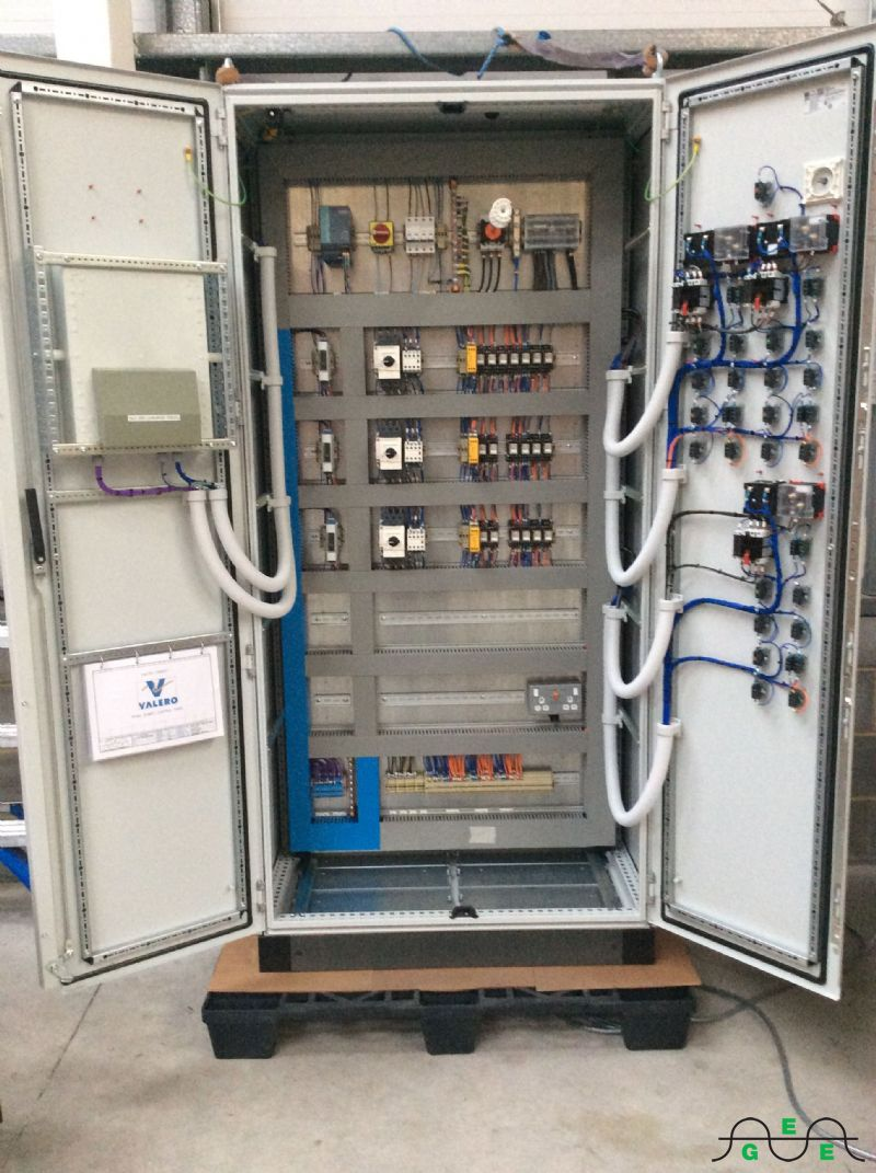 Electrical Control And Distribution Panels Gavin Circuit Breaker Fires Panel Sump With Doors Open